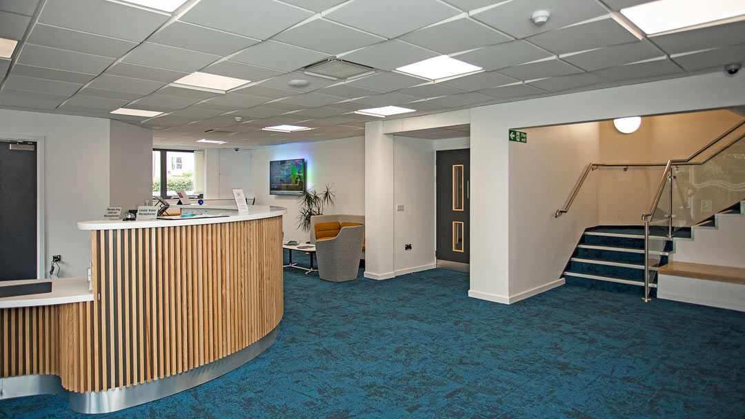 Plymouth Marine Laboratory - reception
