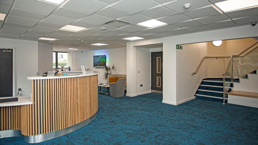 Plymouth Marine Laboratory - reception